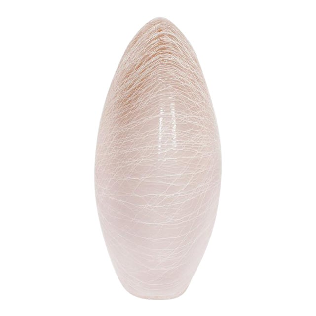 """Seguso Merletto """"Cotton Candy"""" Table Lamp For Sale"""