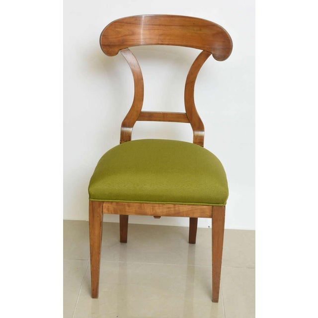 Biedermeier Fruitwood Side Chair For Sale - Image 4 of 7