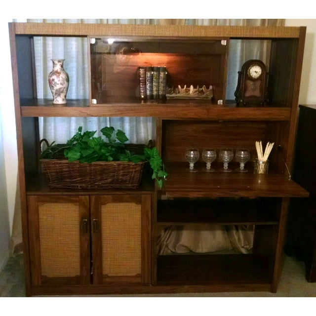 Mid-Century Modern Wall Unit - Image 2 of 6