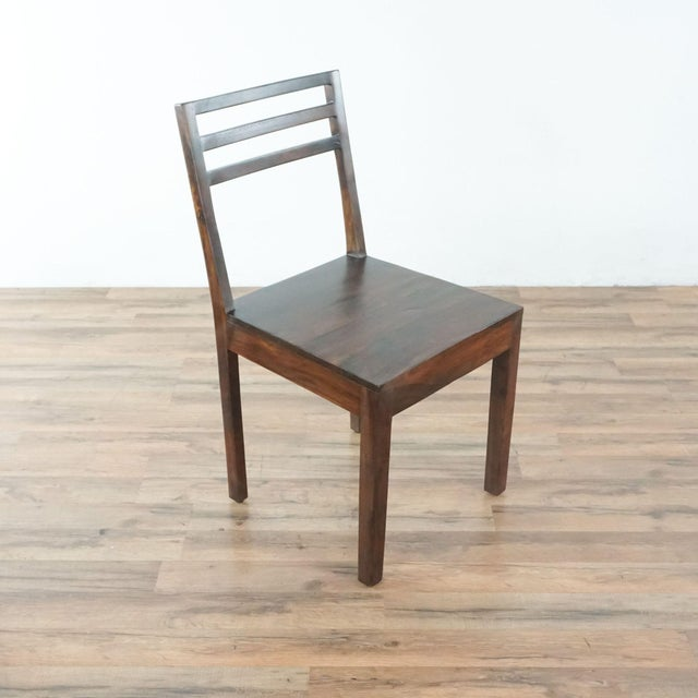 Contemporary Monterey Crafts Justo Dining Chairs - a Pair For Sale - Image 4 of 7