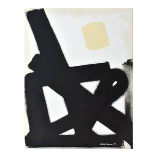 Modern Black Path No. 1 Painting - 40 52