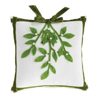 Napa Home & Garden Wintergreen Holly Berry Pillow For Sale