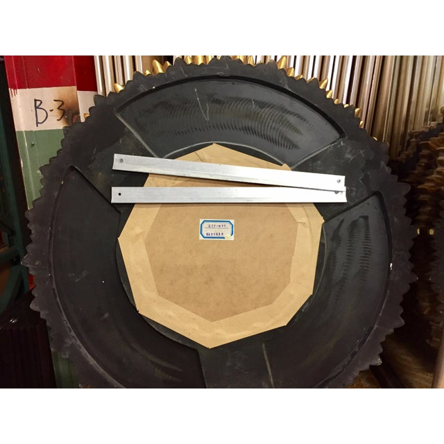 Sunburst Porthole Beveled Wall Mirror - Image 5 of 5