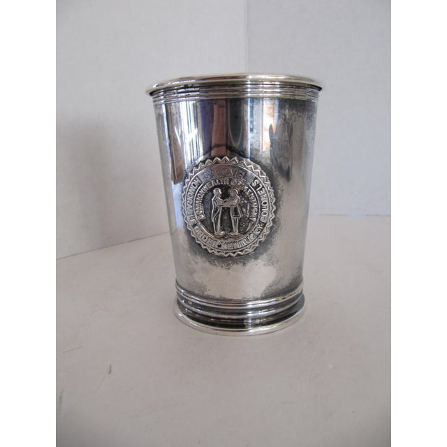 1980s Vintage Honorable Order of Kentucky Colonels Mint Julep Cup For Sale - Image 5 of 5