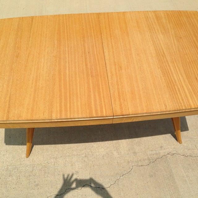 Brown Saltman Gilbert Rohde Dining Table - Image 3 of 5