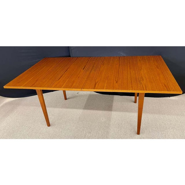 George Nelson Herman Miller Dining Table, Mid-Century Modern Teak Wood For Sale - Image 10 of 13
