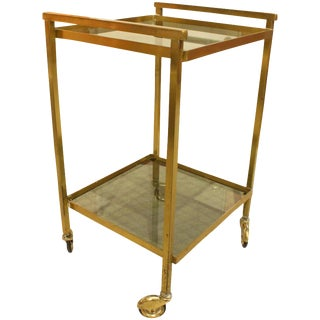 French Art Deco Bar Cart For Sale