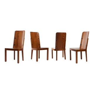 Axel Einar Hjorth Lovo Dining Chairs - Set of 4 For Sale