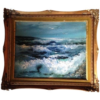 Roal English Seascape Painting For Sale