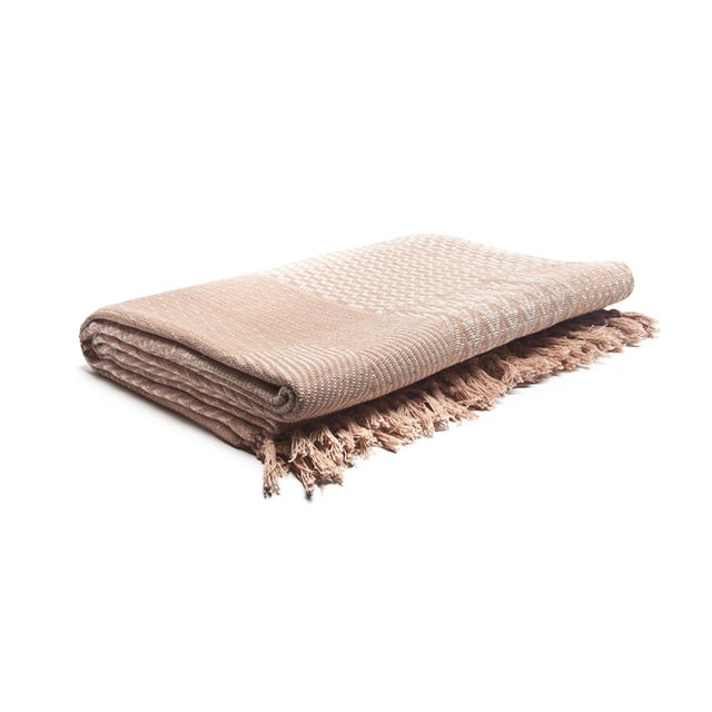 Hand-Loom Bhagalpur Bed Cover - Image 1 of 3