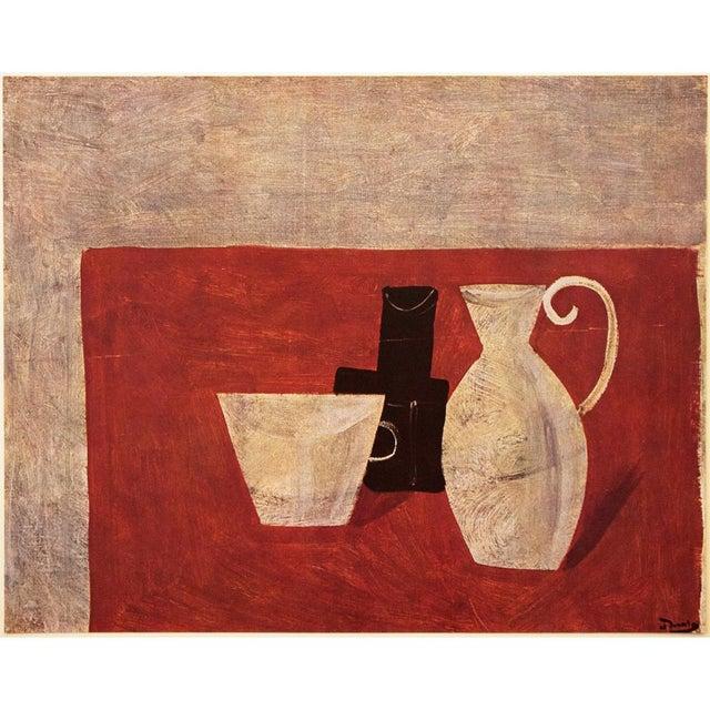 """1947 André Derain Original Period """"Still Life"""" Lithograph For Sale In Dallas - Image 6 of 8"""