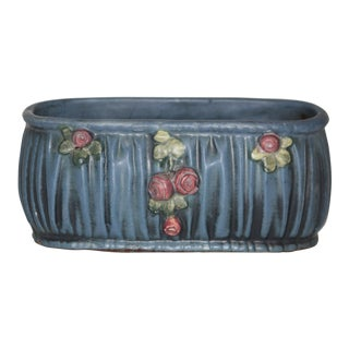 Early 20th Century Vintage Weller Pottery Planter For Sale