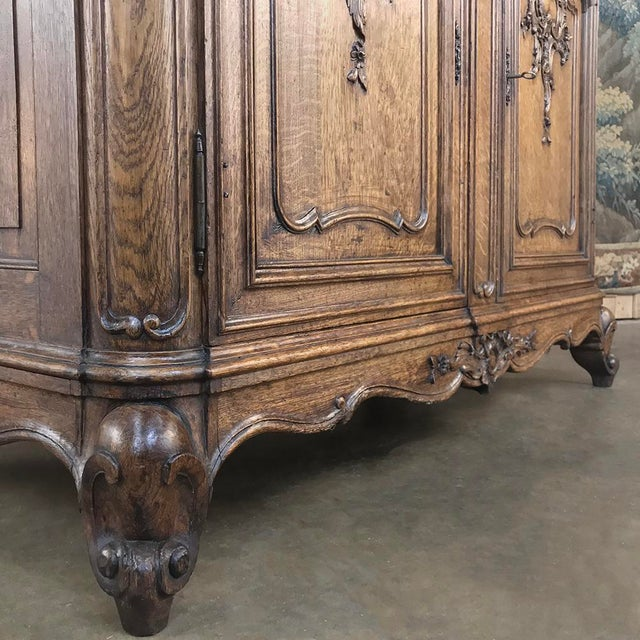Wood 19th Century Liegeois China Buffet For Sale - Image 7 of 13