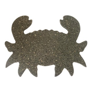 Crab Shaped Terrazzo Tray For Sale