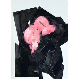 Fragmented Woman, Pink and Black For Sale