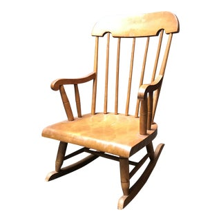 Nichols and Stone Child Size Rocking Chair For Sale