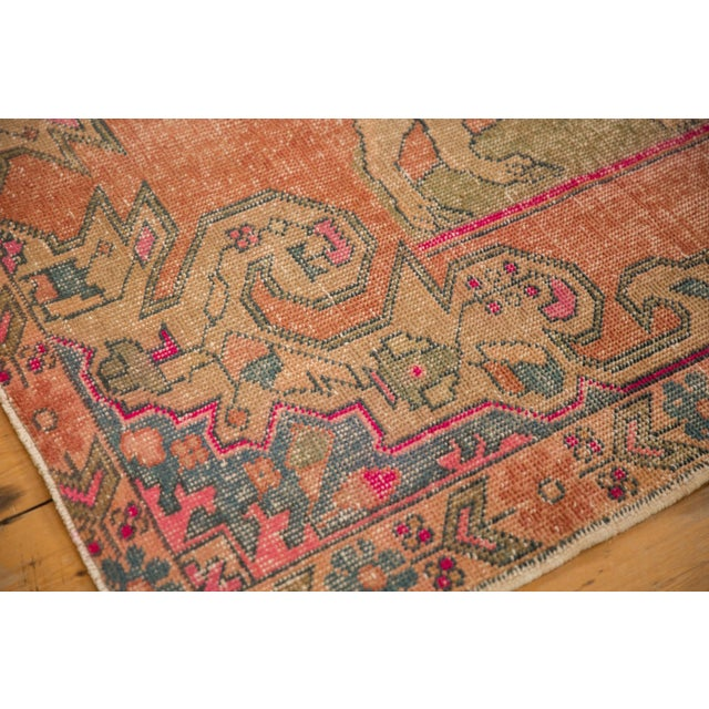"""Vintage Distressed Oushak Rug - 4'6"""" X 6'11"""" For Sale In New York - Image 6 of 11"""