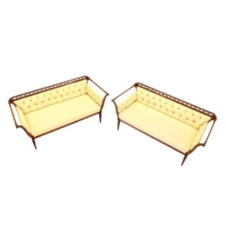Early 20th Century Regency Style Sofas- a Pair For Sale