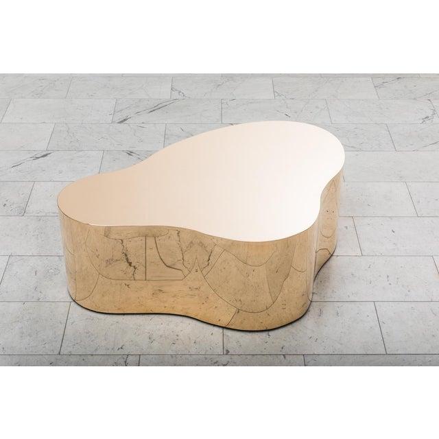 """Gold Karl Springer LTD, Bronze Free Form Low Table """"C"""", USA, 2016 For Sale - Image 8 of 13"""