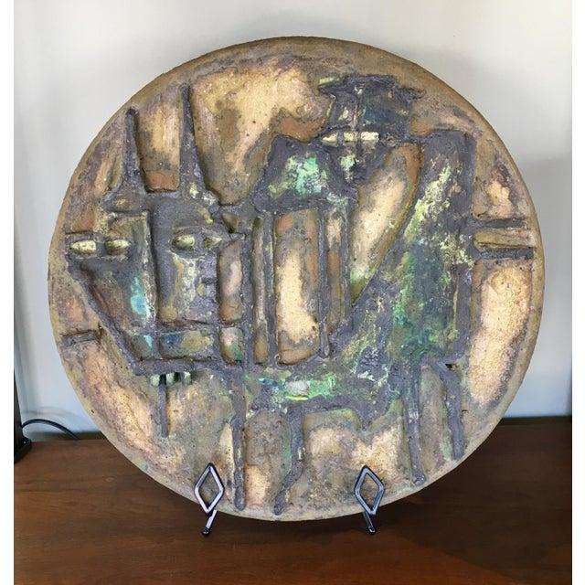 Marcello Fantoni Large Brutalist Clay Sculpture - Image 4 of 8