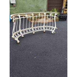 Antique Iron Balcony Console Table Preview