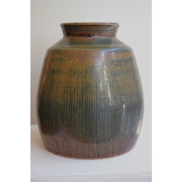 Carl Harry Stålhane was a prominent Swedish ceramist of international acclaim for the unique hand built stoneware and...