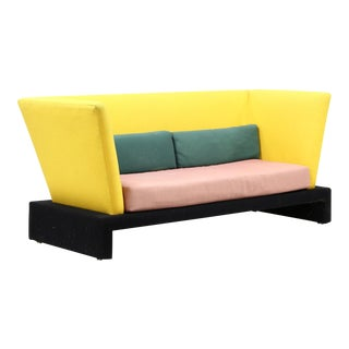 Postmodern Milo Baughman for Thayer Coggin Prisma Sofa For Sale