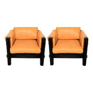 Mid-Century Modern Pair of Brazilian Armchairs