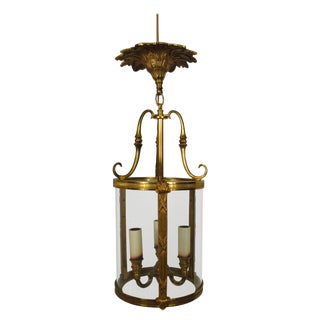 Brass Classical Small Lantern For Sale