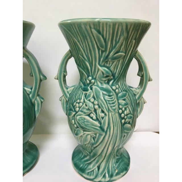1940s Art Deco Mccoy Pottery Vases A Pair Chairish