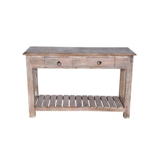 Duplin Two Drawer Console Table For Sale