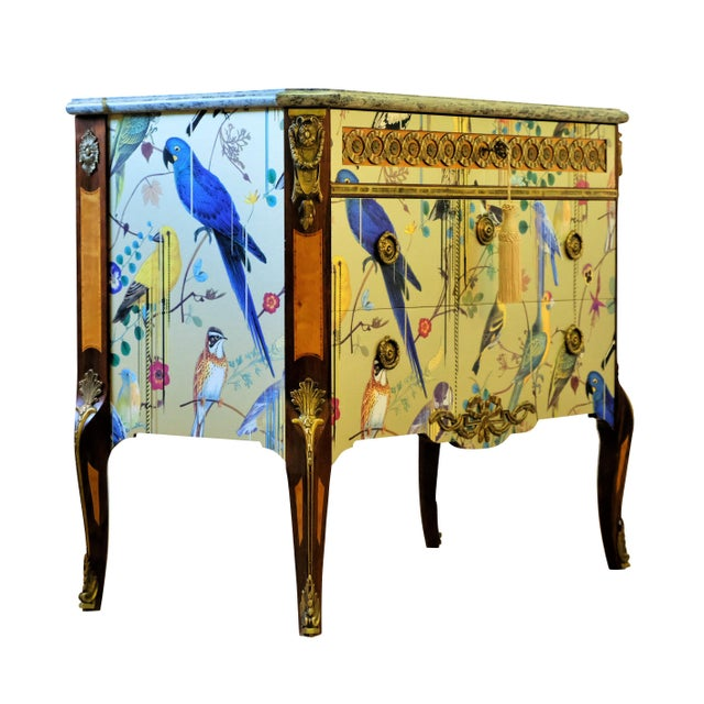 1950s Christian Lacroix Style Commodes - a Pair For Sale - Image 5 of 9