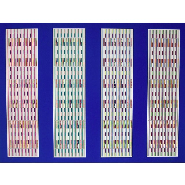 Yaacov Agam Five Visual Orchestrations 1980 For Sale