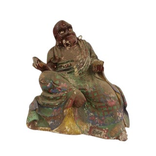 Vintage Kanaka the Bharadvaja Buddha Stature For Sale