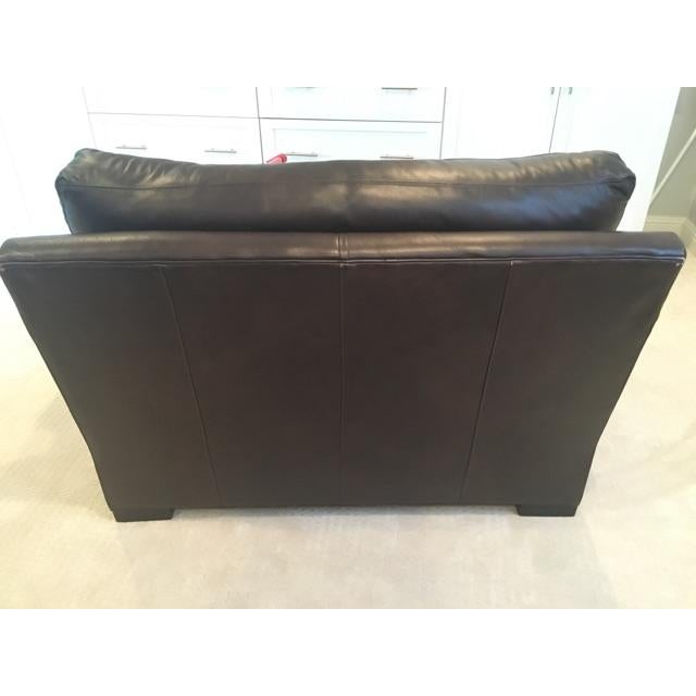 Crate & Barrel Axis II Leather Chair - Image 6 of 8