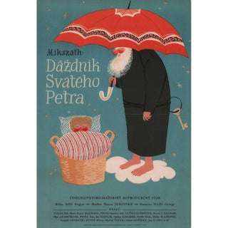 St. Peter's Umbrella 1958 Slovakian A3 Film Poster For Sale