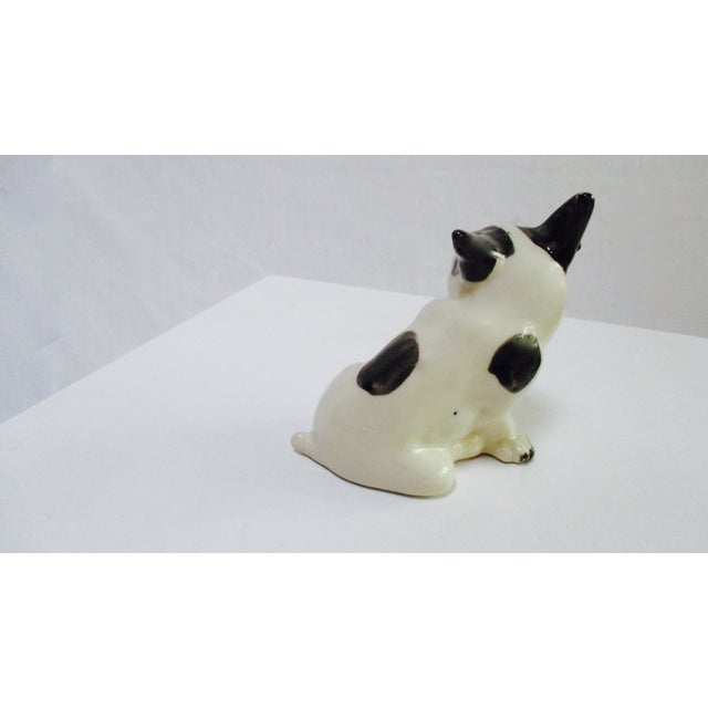 Vintage Ceramic French Bulldog - Image 4 of 7