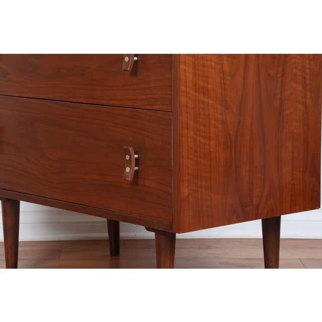 Glenn of California Walnut Chest by Stanley Young - Image 10 of 10