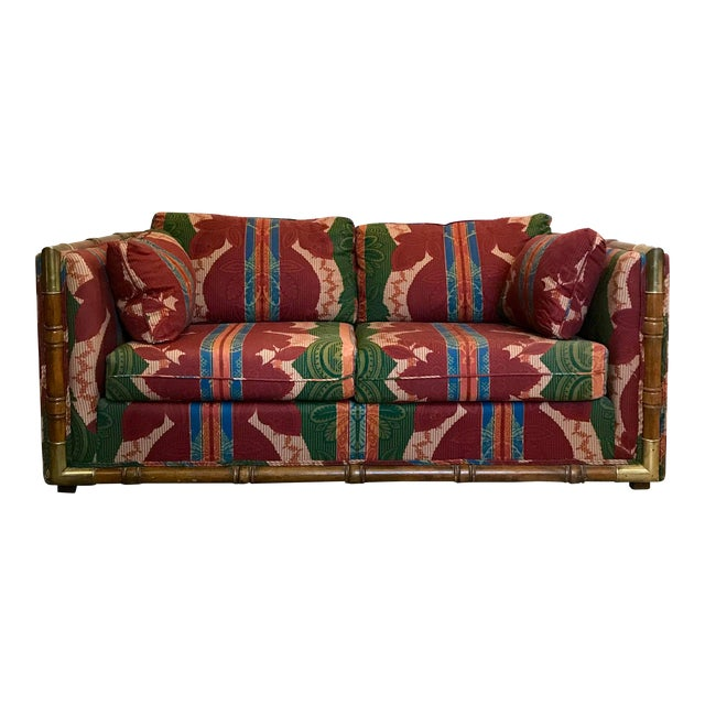 Campaign Loveseat For Sale