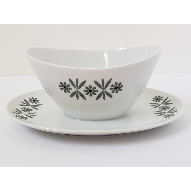 Mid Century Modern Seltmann Weiden Monica Bavarian Porcelain Dinnerware For Sale - Image 10 of 13