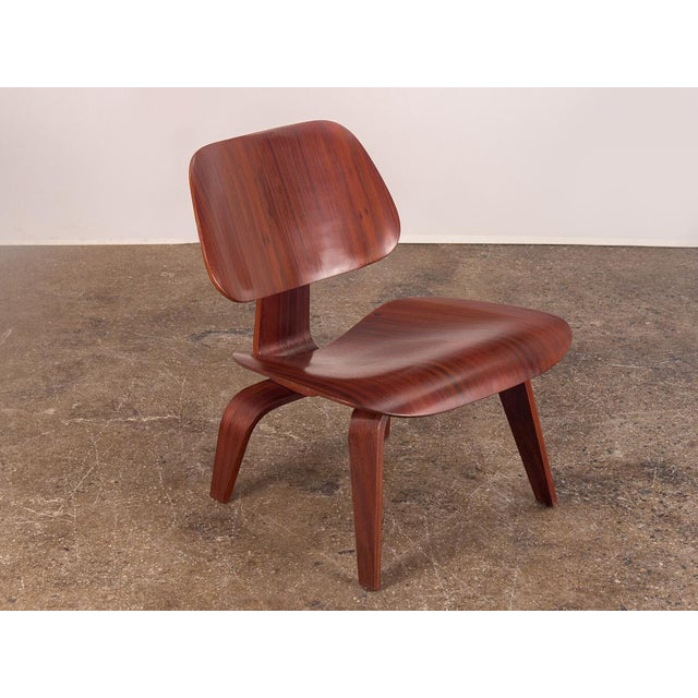 Rare Eames Pre-Production Rosewood LCW - Image 11 of 11
