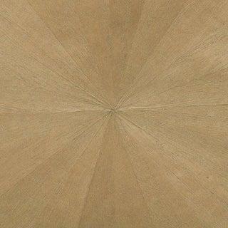 Sample, Maya Romanoff Ajiro Sunburst Wood Veneer: Oak Luster - Wood Veneer Wallcovering For Sale