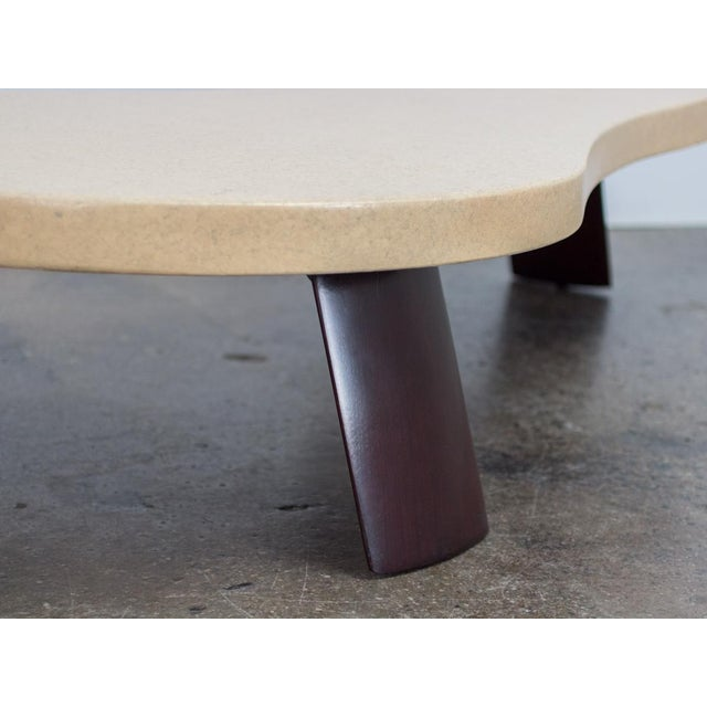 """White Paul Frankl """"Big Foot"""" Model #5028 Table For Sale - Image 8 of 10"""