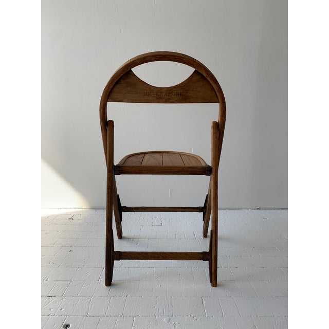 Metal 1930s Bauhaus Bent Wood Folding Chairs - a Pair For Sale - Image 7 of 13