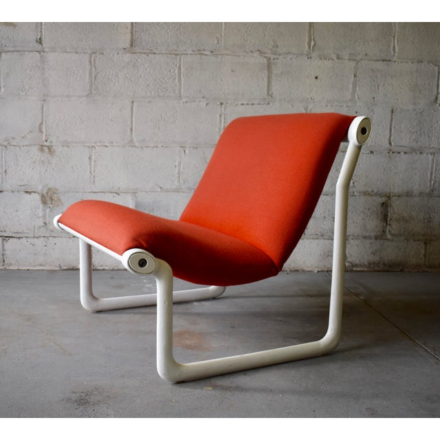 Hannah & Morrison for Knoll Mid Century Modern Sling Lounge Chair For Sale - Image 13 of 13