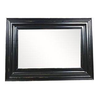 Modern Black Wall Mirror
