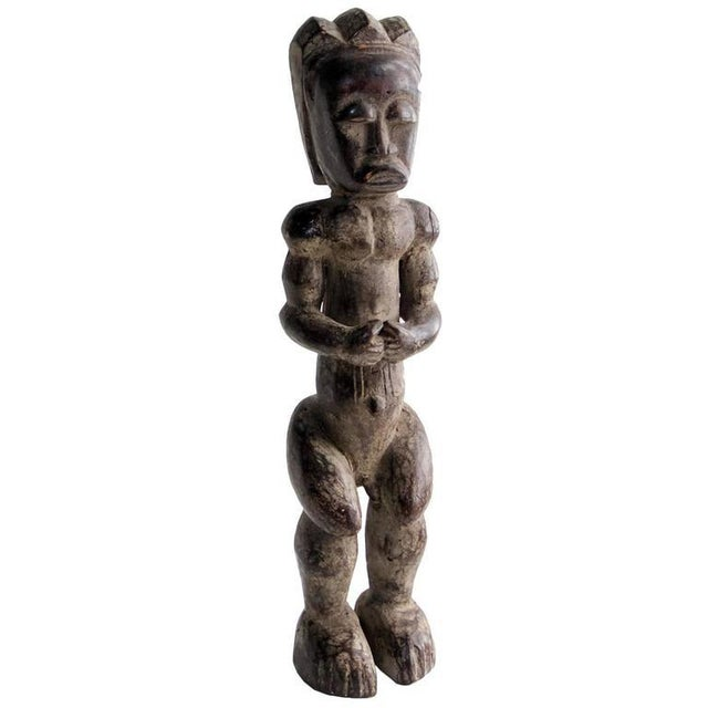 Mid 20th Century 20th Century African Fang Sculpture of Male Figure For Sale - Image 5 of 6