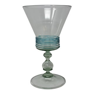 Vintage 1960s Murano Wine Glass For Sale
