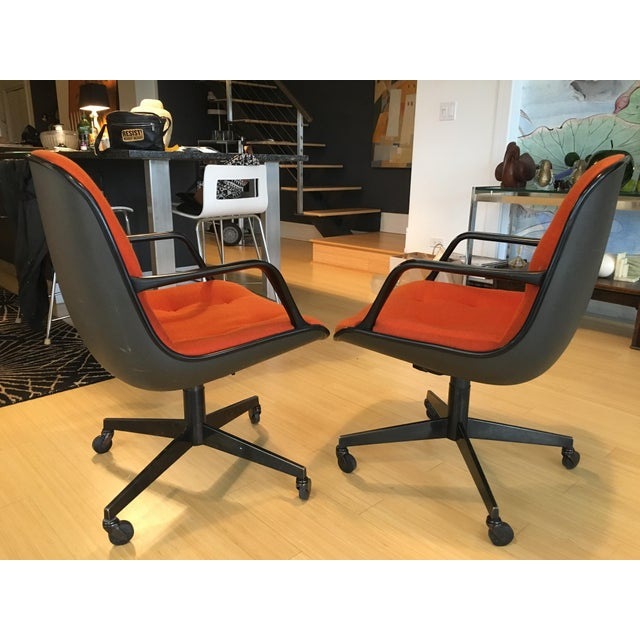 """Steelcase Rolling """"Pollack"""" Swivel Office Chairs - Image 4 of 11"""
