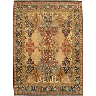 """Fine Agra Rug-9'x 12'3"""" For Sale"""